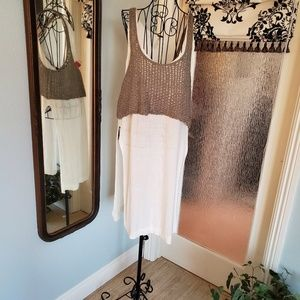 Free People layered tunic